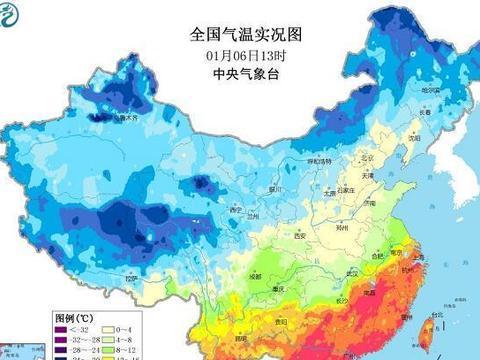 差异很大!长江南北气温冷暖迥异!湖南省内温差超过20℃