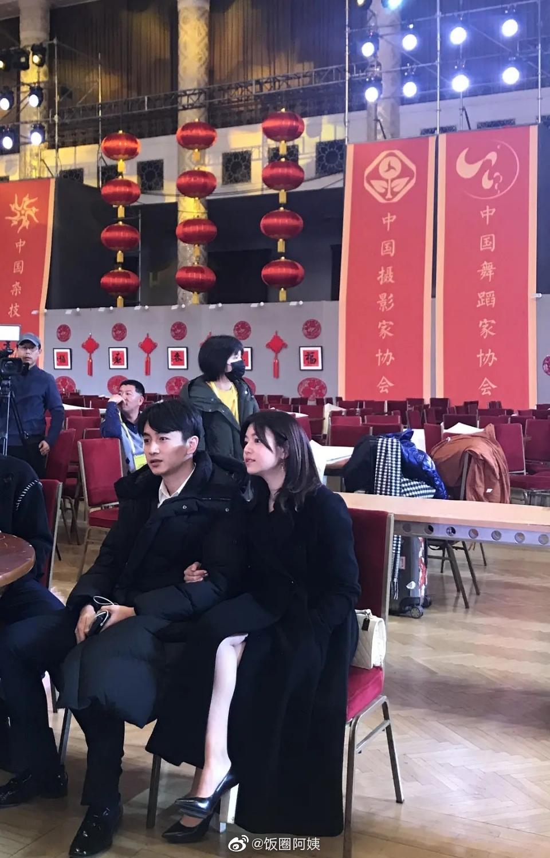 久违的同框!立破不和传闻!现在看陈晓和陈妍希婚礼的照片
