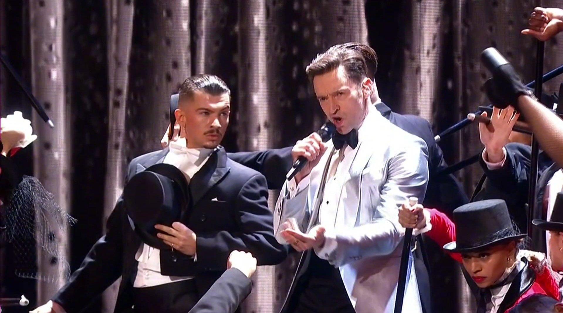 休·杰克曼最新2019年全英音乐奖开场表演《马戏之王》原声《The Great