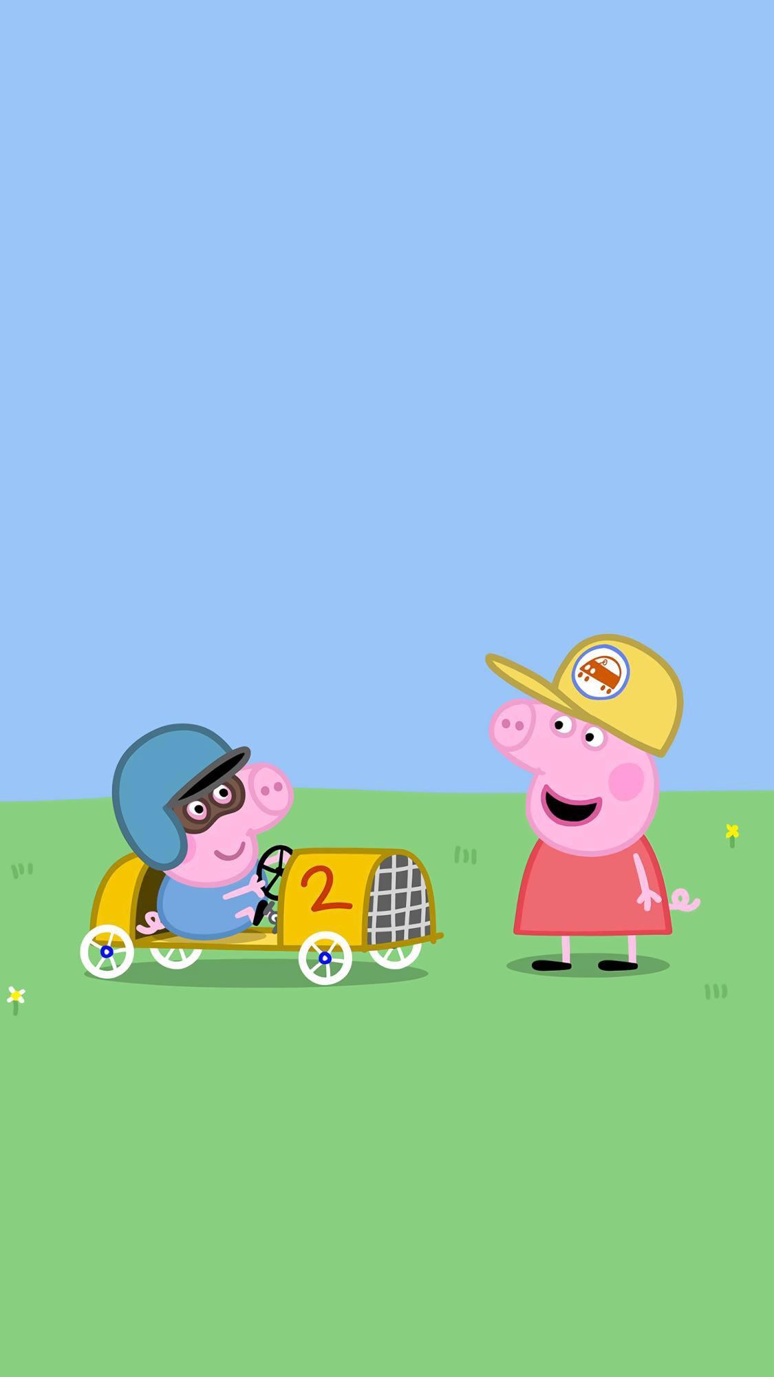 情头可爱ins风搞怪动漫卡通无水印搞笑    ?卡通壁纸,小猪佩奇壁纸