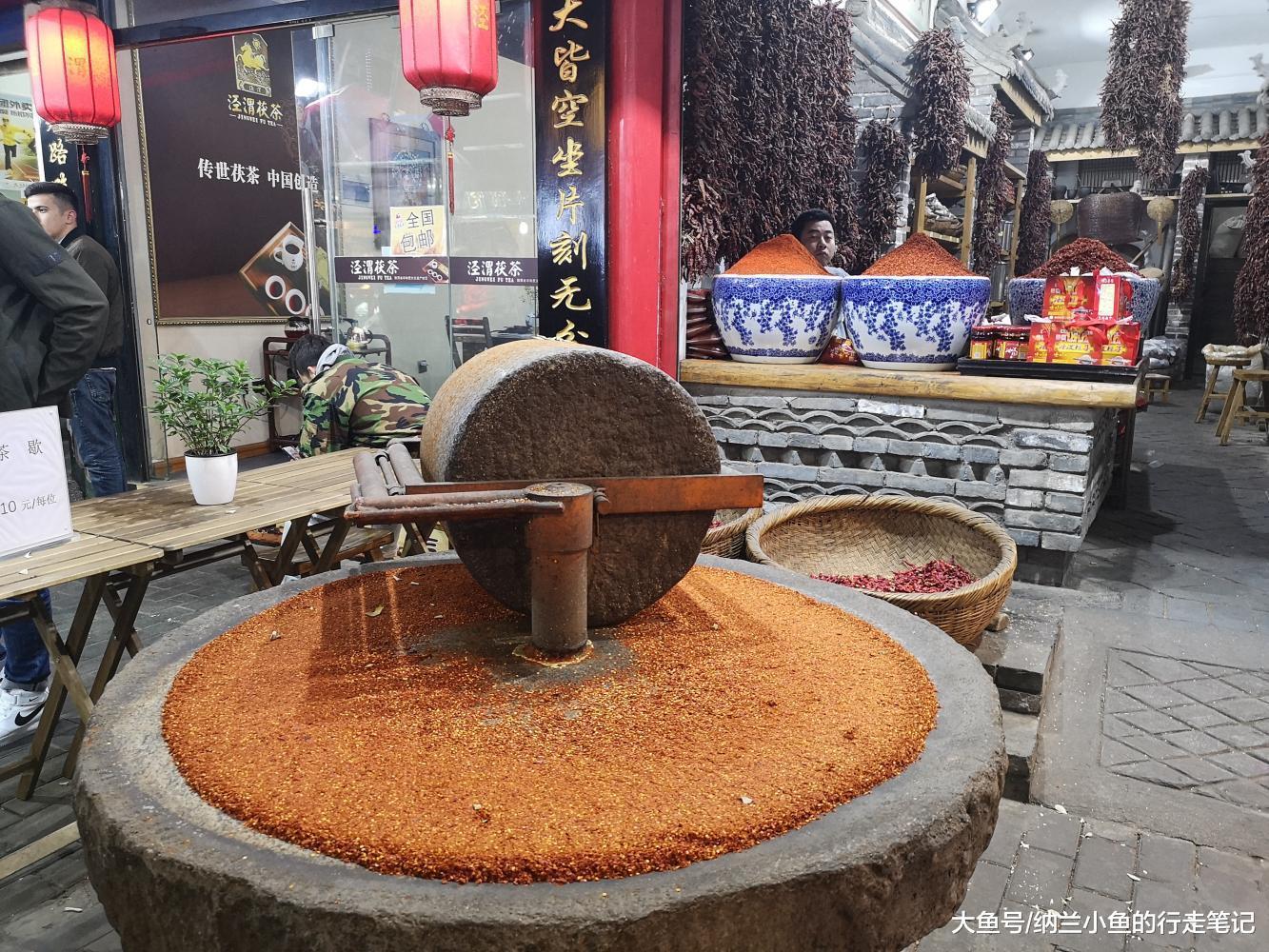 原来陕西人也爱吃美食西安的辣椒都在这里,辣得真过瘾!街十里铺美食图片