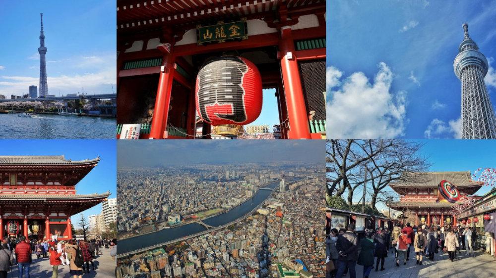 【东京】从浅草寺到晴空塔,隅田川两岸观光血拼一日游