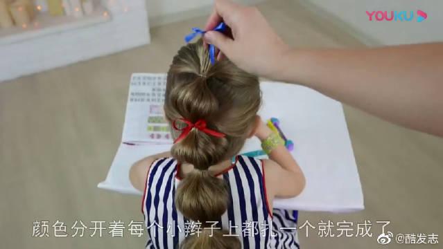 两种女童编发,灯笼发型很有创意,不要错过啦!
