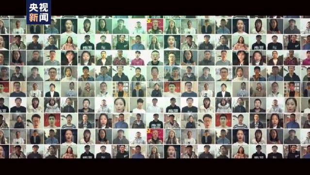长安大学各地校友网络唱响《我的祖国》,这些学生唱的真的很好听!