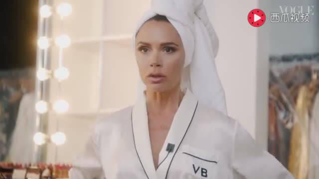 贝嫂Victoria Beckham For British Vogue 2018 Oct. 封面拍摄花絮