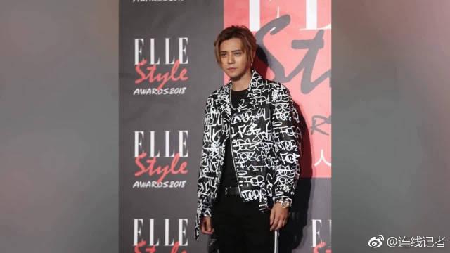回顾一下,2018年11月2日,台北,2018ELLE风格人物大赏红毯。