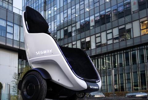 Segway发布S-Pod移动沙发,以后的电动车是这样的