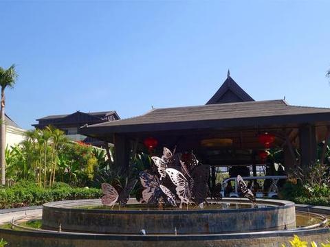 西双版纳万达旅游度假区之希尔顿逸林酒店,蝴蝶主题的热带奢华