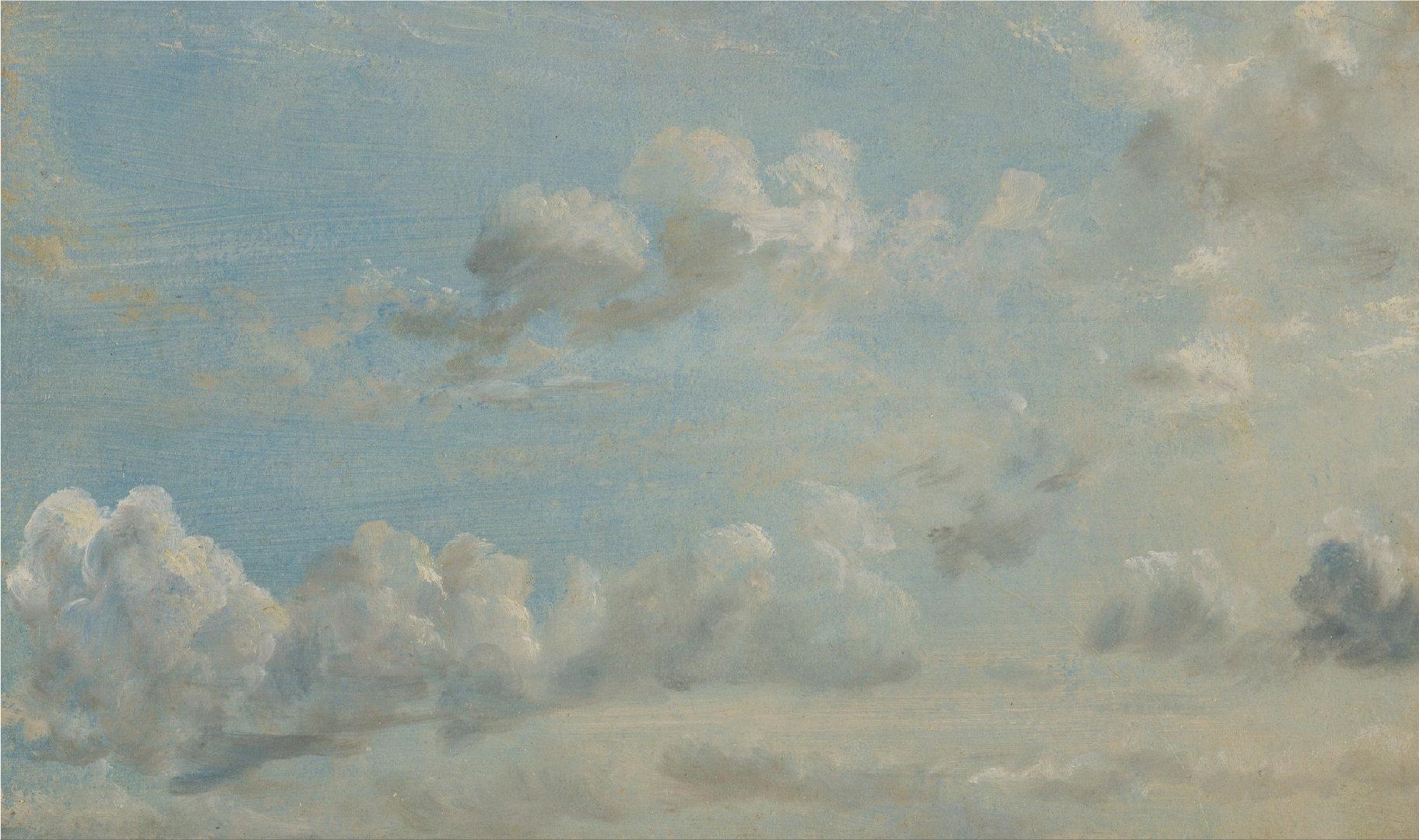 康斯太勃尔的云层~~~