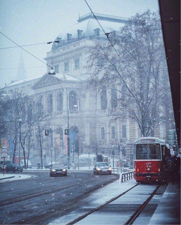 维也纳的冬季,满满的艺术气息