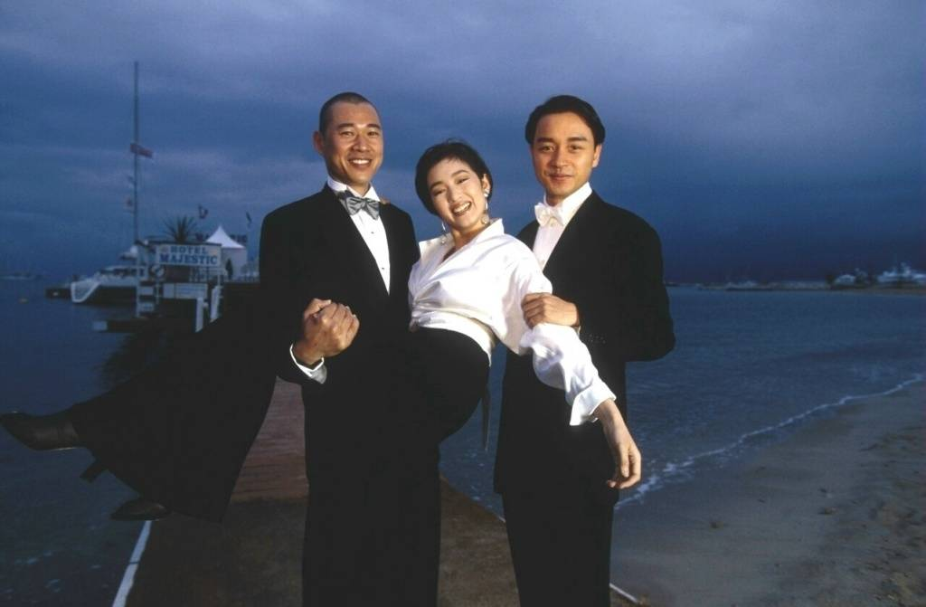 93年戛纳电影节/ 巩俐 、张丰毅 、张国荣 每次回顾都被惊叹到