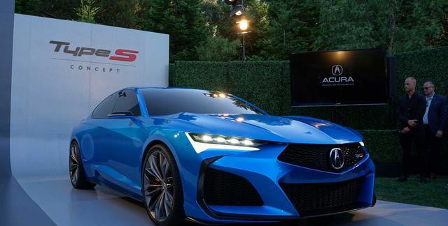 """圆石滩车展""""长安王""""两款新车赚足目光,未来设计方向令人期待"""