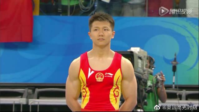 2008奥运中国第36金,陈一冰不愧是吊环王,身体太灵活游刃有余