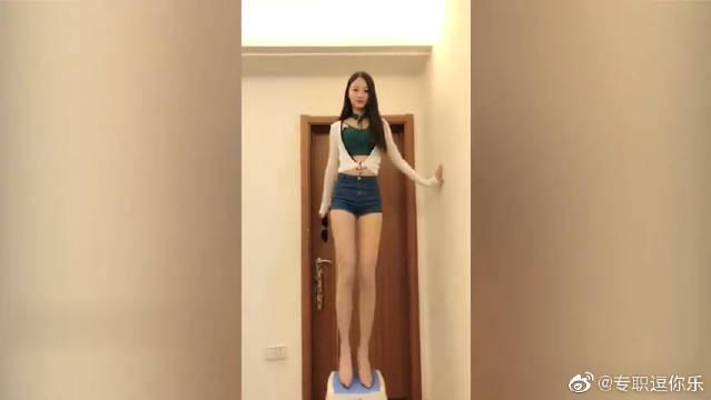 刚认识的女网友,不仅身高出众,舞蹈也是一级棒!