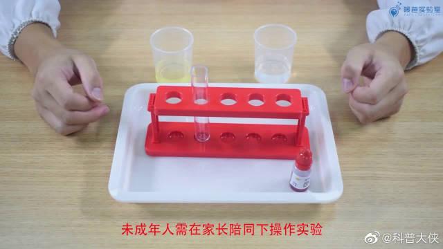 色素+水+油,最后来一点泡腾片,就会有火山爆发般的神奇景象哦~