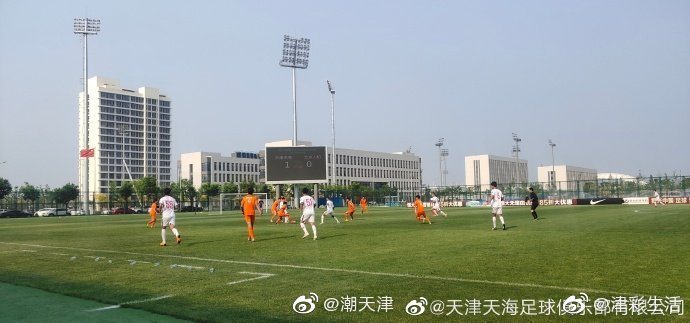 据说在全国青超联赛中,天津天海以39-0击败山西信都队