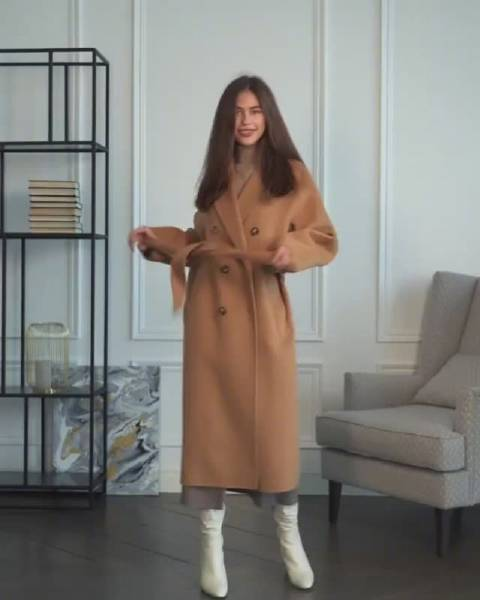 日常休闲的法式时髦入冬穿搭 .