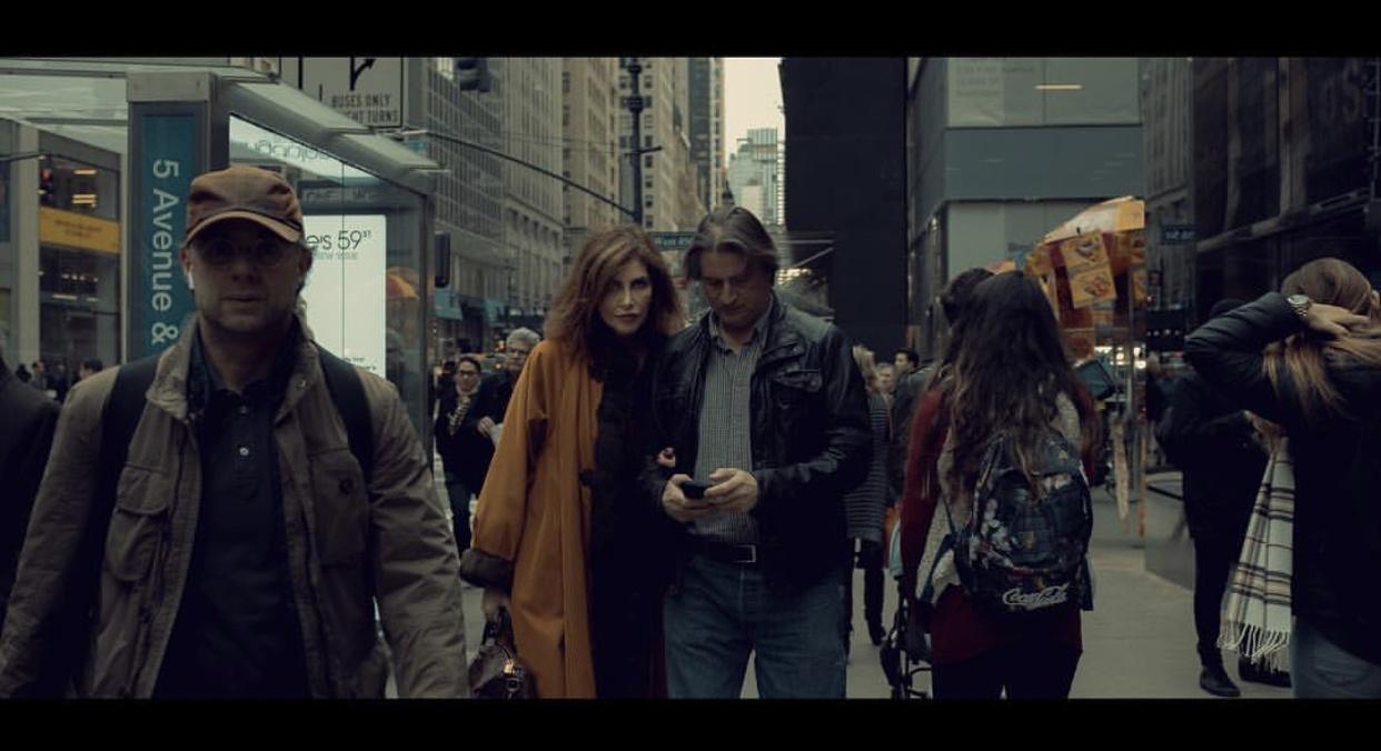 纽约的街头