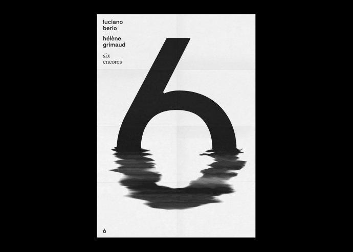 极简风黑白字体海报设计欣赏! by - 设计师 Fabian Fohrer