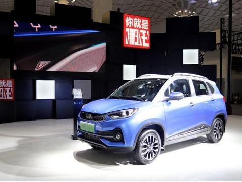 哪吒N01亮相2019海口国际新能源车展
