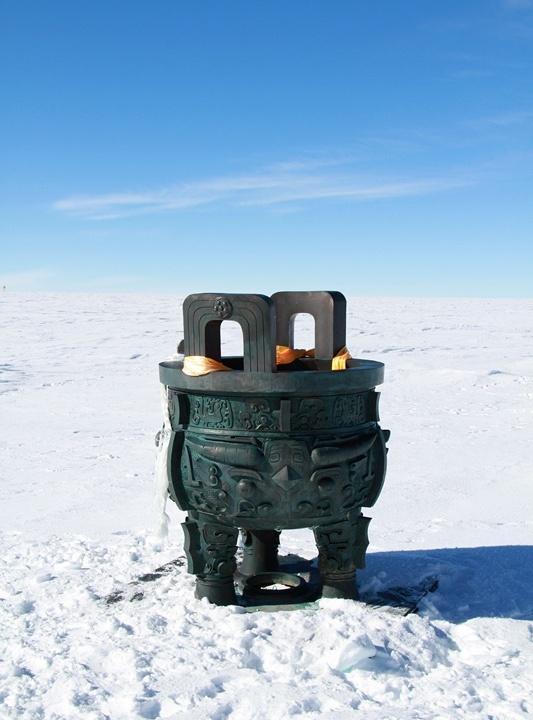 南极的这3件雕塑,标志着中国从极地科考的大国走向强国