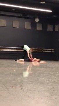 美国芭蕾舞剧院 Jessica Lang编舞作品Let Me Sing Forevermore排练 C