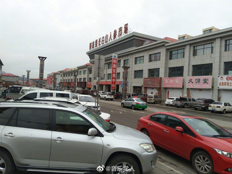 万良长白山人参市场位于吉林省抚松县万良镇