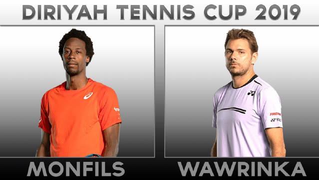 Diriyah网球杯表演赛:孟菲尔斯以6-3/6-3战胜瓦林卡
