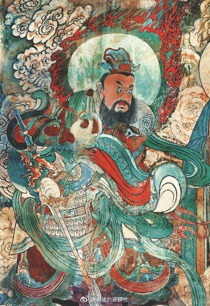 《永乐宫壁画朝元图全图》