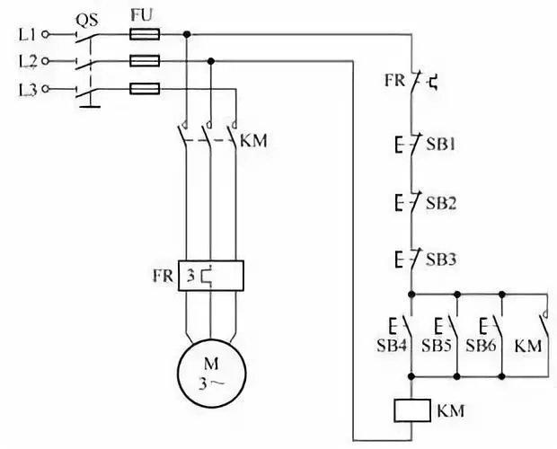 多有常用电动机控制电路图,全在这里