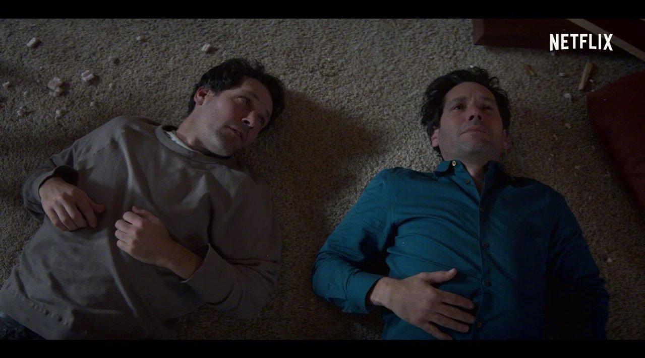 """""""蚁人""""保罗·路德主演的Netflix新喜剧《与己同行》曝光首支预告"""