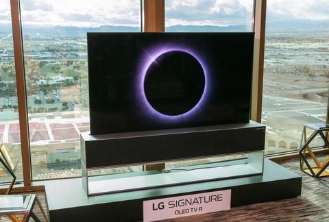 LG 卷轴式 OLED 电视正式上市,售价 6 万美元