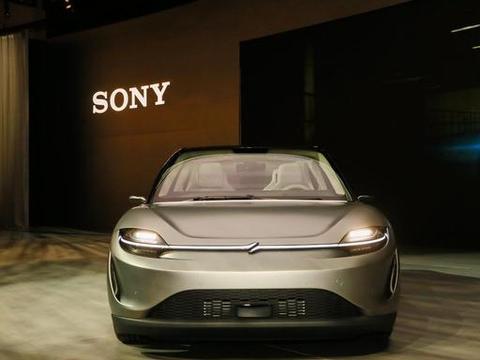 索尼推出概念电动车,以及与之配套的联网汽车平台