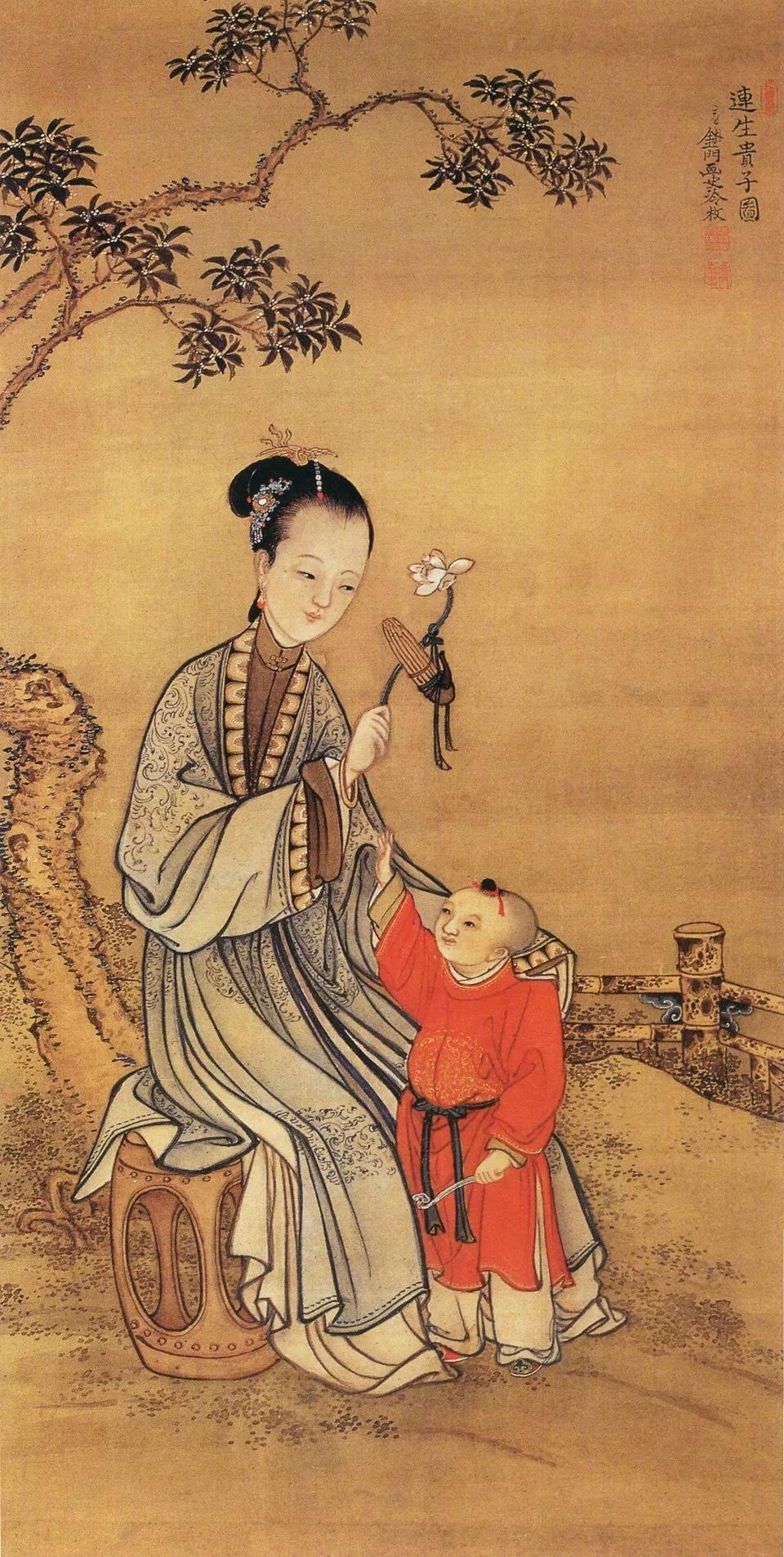 清宫著名十大画家精品选萃之—-郎世宁。