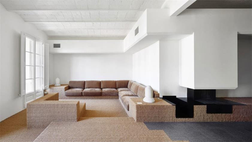 巴塞罗那白色公寓改造设计/汕头室内设计/揭阳普宁室内设计/汕头设计