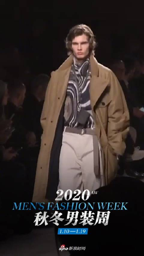 HERMES 爱马仕2020秋冬男装秀,不管是配色,还是设计
