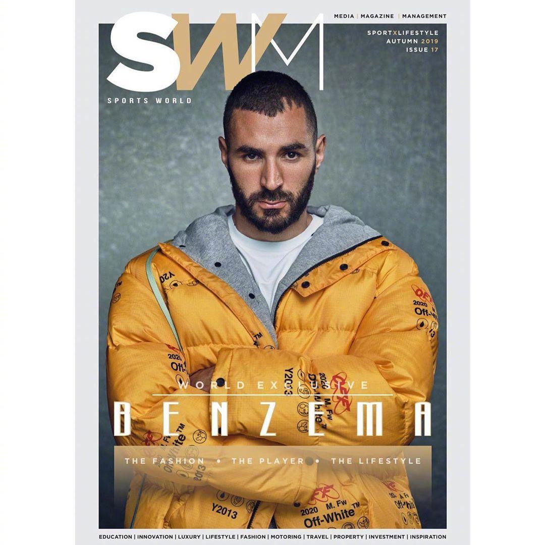 时尚教主本泽马的杂志大片让你一次看个够这硬照水平和时尚表现力你