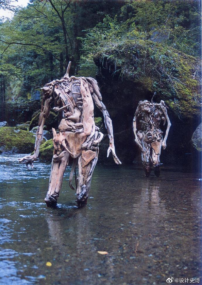 木雕艺术 | 日本雕塑艺术家岩崎永人