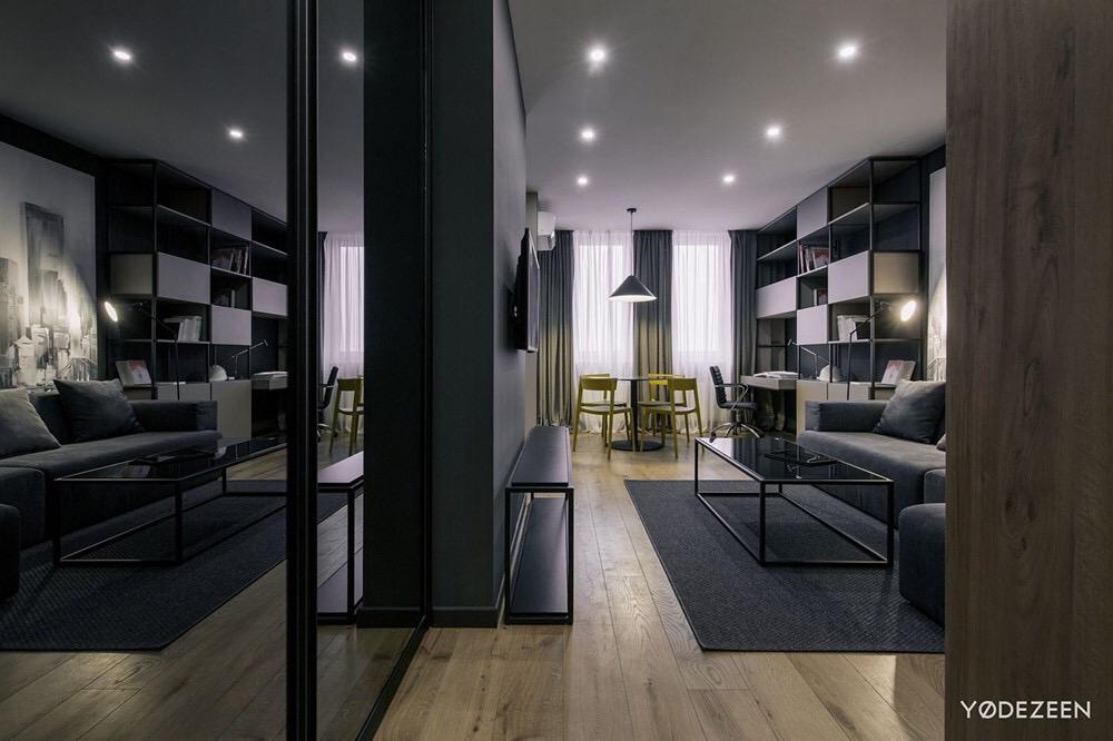 基辅现代风高级学生公寓 | YoDezeen