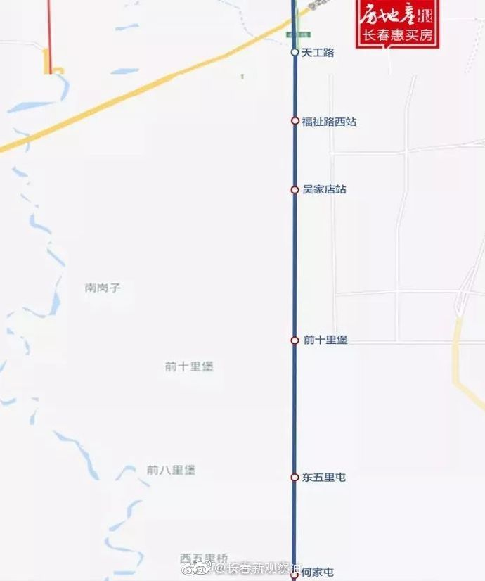 长春轨道交通4号线南延长线预计年底主体工程正式开工