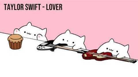 哈哈哈,可爱猫猫光速翻唱霉霉的新单《Lover》,最左边那位