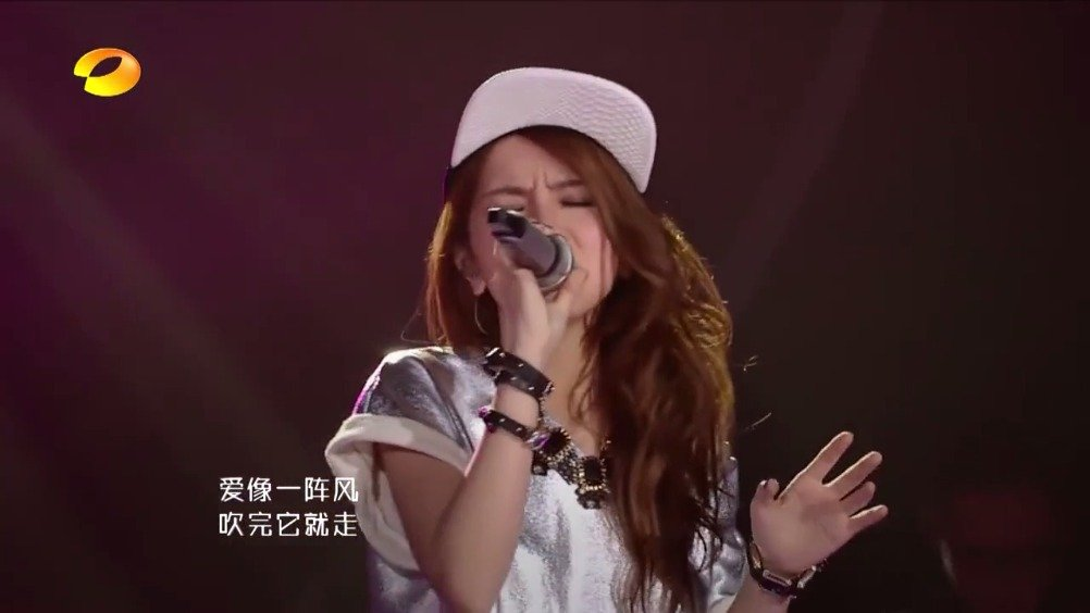 """通过我是歌手认识你被你一曲 """"龙卷风""""翻唱所吸引   甚至大街小巷"""