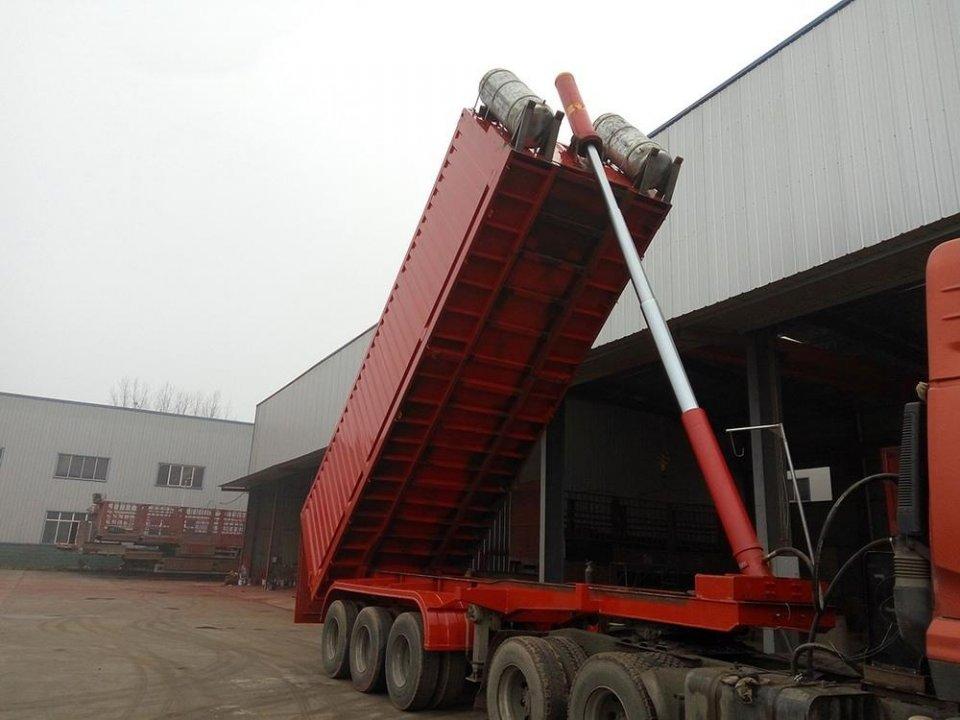 一力举千斤——说说自卸车液压举升系统的结构及工作原理图片