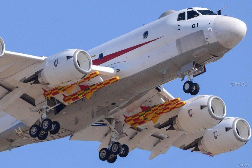 日本海上自卫队巡逻机测试改良型反舰导弹 应对中国海军力量崛起....