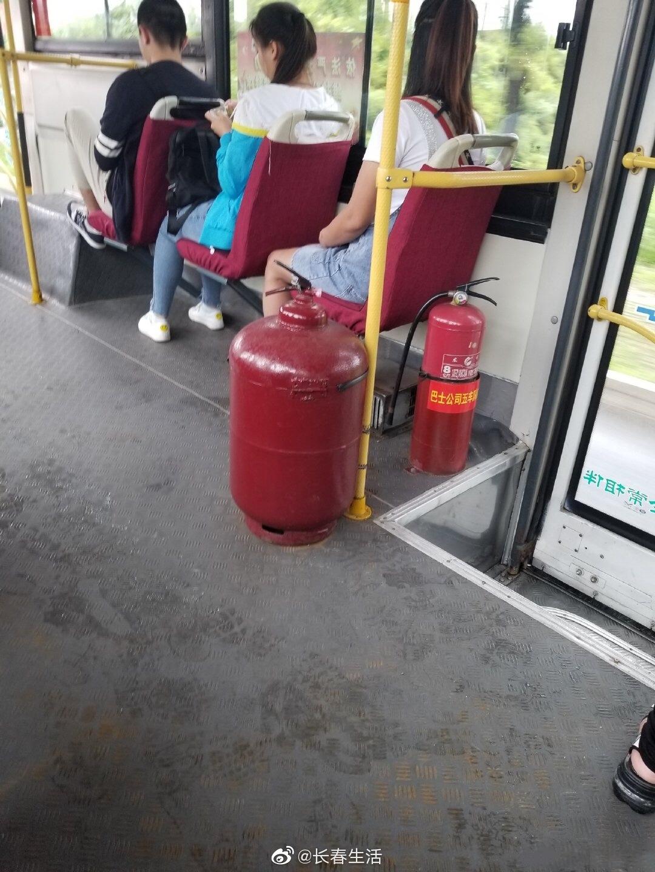 网友爆料:净月68B公交车,这个Plus版本灭火器怎么样?