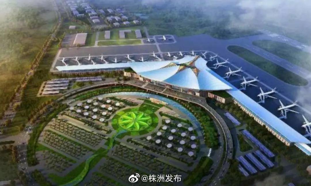 ①日前,西藏拉萨贡嘎国际机场新建的T3航站楼混凝土结构封顶