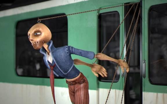 反思动漫《提线木偶》我们都是生活的傀儡,过着提线木偶般的日子