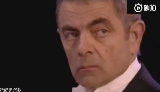 罗温·艾金森唯一一个在奥运会开幕式很皮的人,凭实力抢镜