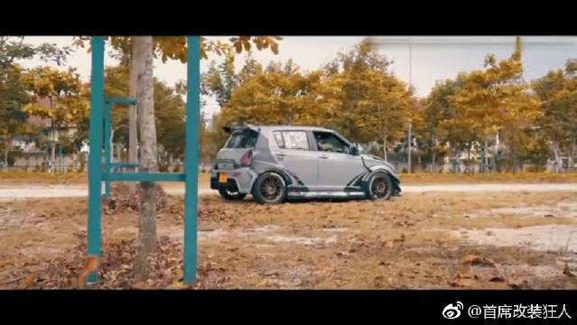 视频:超酷铃木雨燕改装展示!