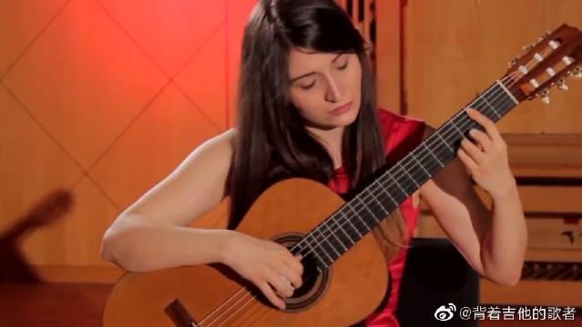 吉他演奏莫扎特《魔笛主题变奏曲》,真好听呀,耳朵都要怀孕了呢!